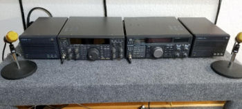 Kenwood TS-850S to Yaesu FL-7000 band data interface board
